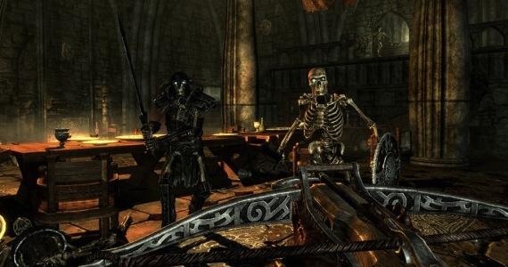 Elder Scrolls Skyrim Dawnguard Gameplay Video