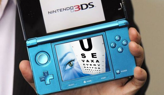Nintendo 3DS Headache Response