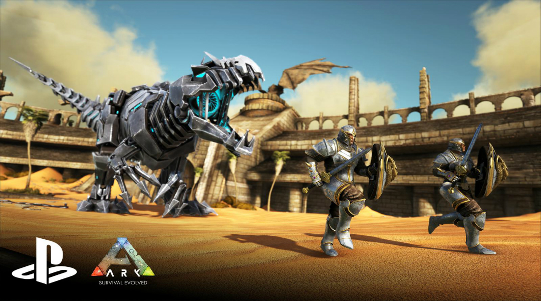 ARK: Survival Evolved Gets Release Date on PS4