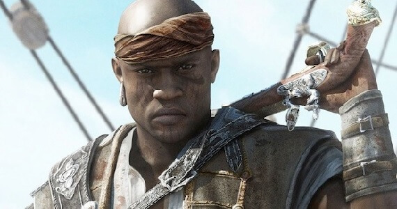 Adewale in Assassin's Creed Freedom Cry