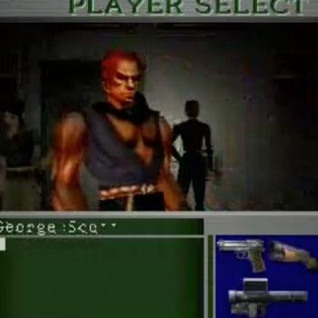 Akuma Playable in Resident Evil 2