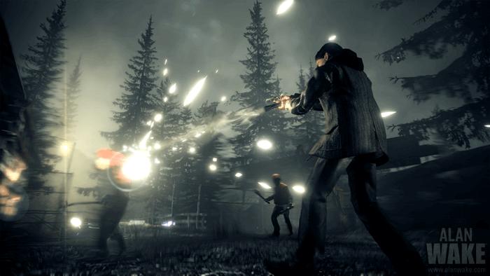 Alan Wake Xbox One -- Light and shadow