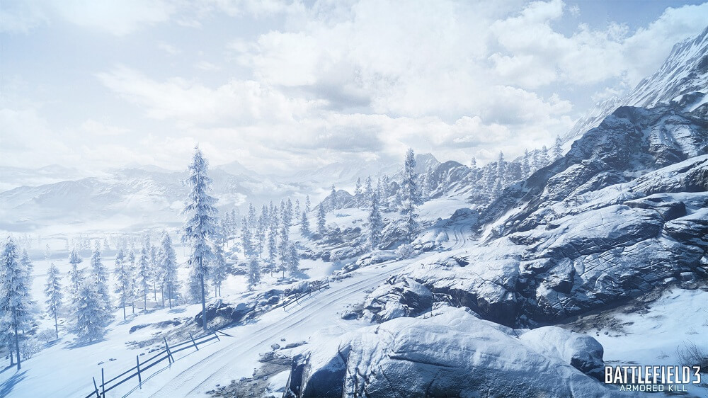 'Battlefield 3' Beautifies Armored Kill with 'Alborz Mountains' Map Trailer