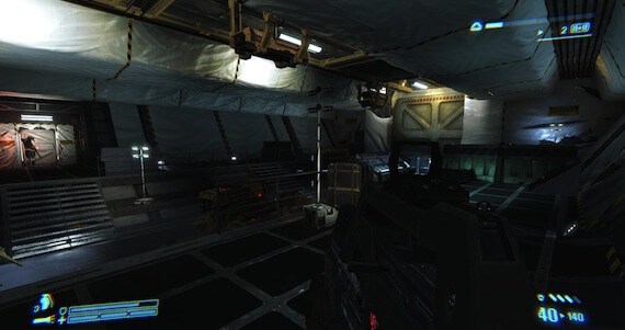 Aliens Colonial Marines Review - HUD