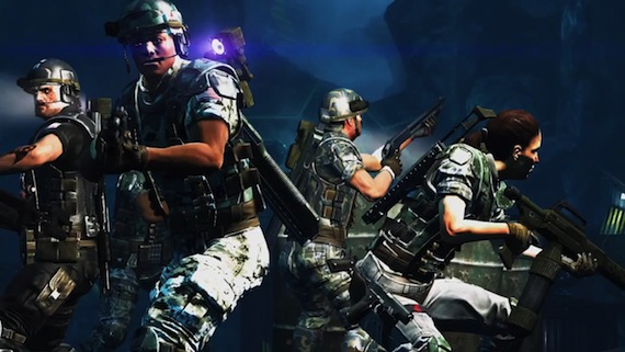 Aliens Colonial Marines Review - Main Characters