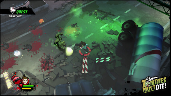 All Zombie Must Die! Mutant Zombie