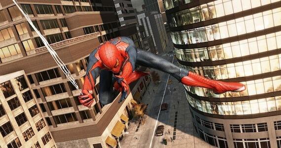 Spidey Zips Through Manhattan in New 'Amazing Spider-Man' Footage