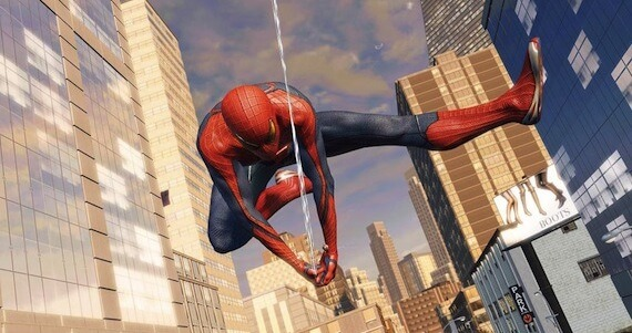 Amazing Spiderman E3 Preview - Web Swinging