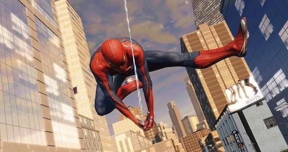 Amazing Spiderman E3 Preview - Web Swinging