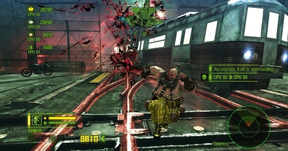 Anarchy Reigns Review - Multiplayer