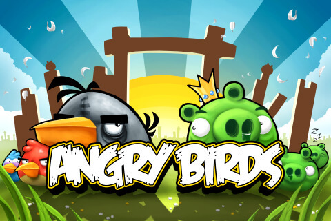 Angry Birds for the PS3 and PSP