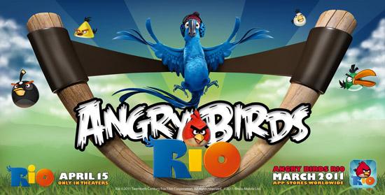 Angry Birds Rio 20th Century Fox