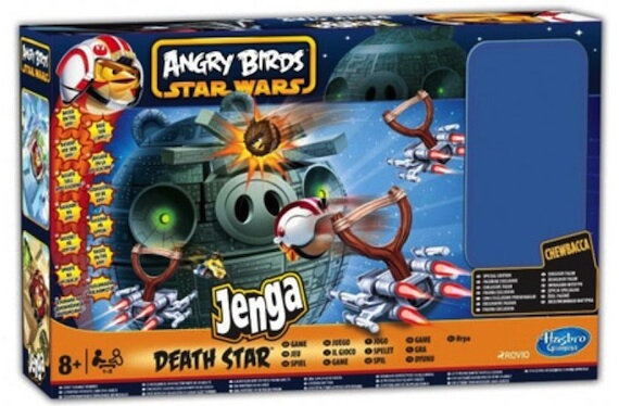 Angry Birds: Star Wars Jenga