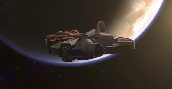 Angry Birds Star Wars Millennium Falcon Trailer
