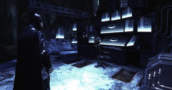 Arkham City Bat Cave Challenge Map DLC