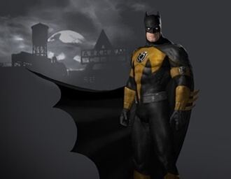 'Batman: Arkham City' Sinestro Corps Skin Revealed