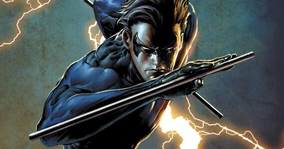 Arkham City Nightwing comic