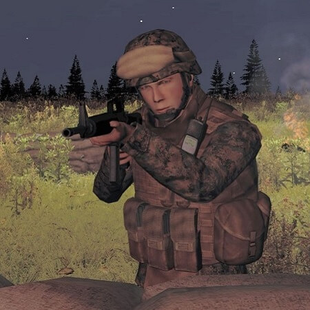 'ArmA' psychic soldier