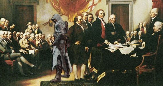 Assassin's Creed 3 - American Revolution Story