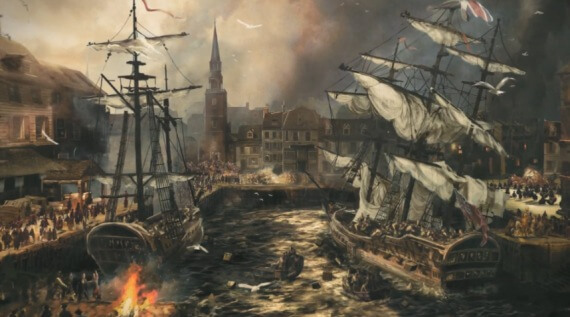 Assassins Creed 3 Boston Tea Party Trailer