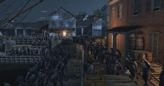Assassins Creed 3 Boston Tea Party