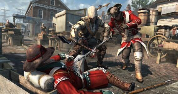 Assassins Creed 3 British Enemies