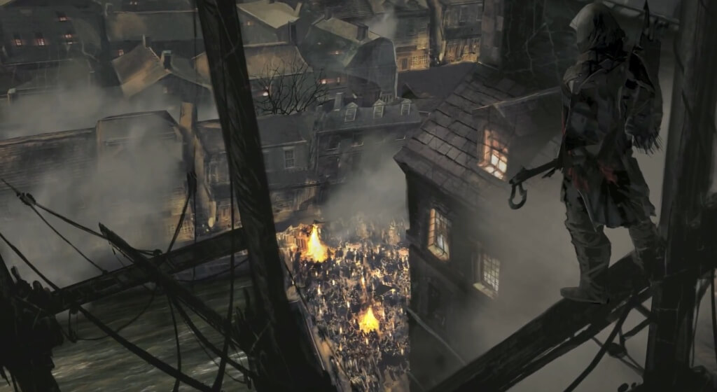 'Assassin's Creed 3' Boston Tea Party Trailer