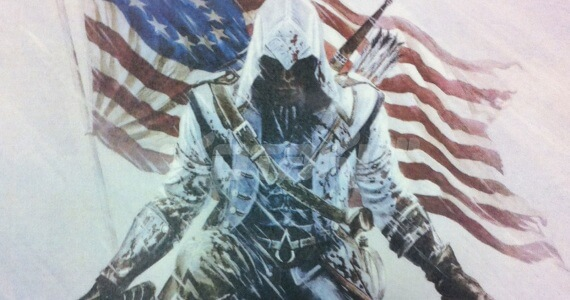 Is This The Cover Of 'Assassin's Creed 3'? [Updated]
