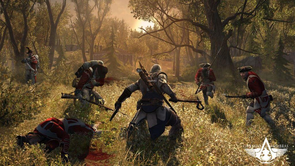 'Assassin's Creed 3' New Screenshots & Gameplay Details