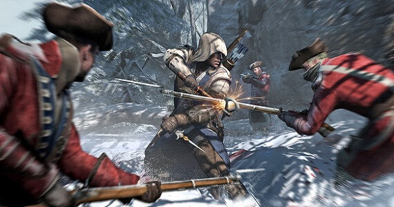 'Assassin's Creed III' World Premiere Gameplay Trailer Fights for Freedom