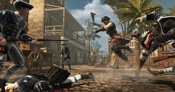 Assassins Creed 3 Liberation Review - Combat