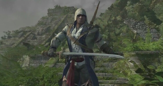 'Assassin's Creed 3' Pre-Order Trailer Showcases Mayan Ruins Level