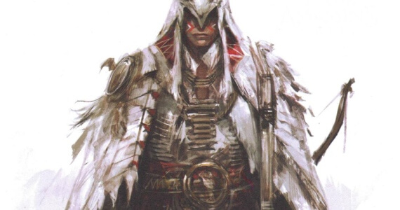 'Assassin's Creed 3' Mohawk Armor Concept Art