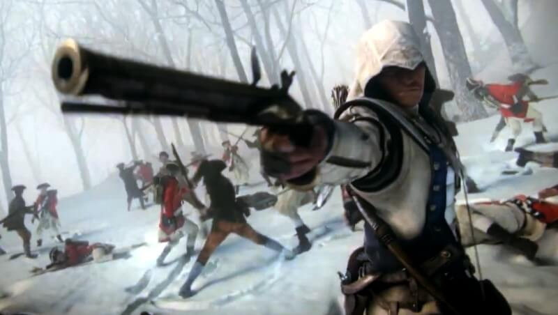 'Assassin's Creed 3' Trailers Show Connor's Patriotism