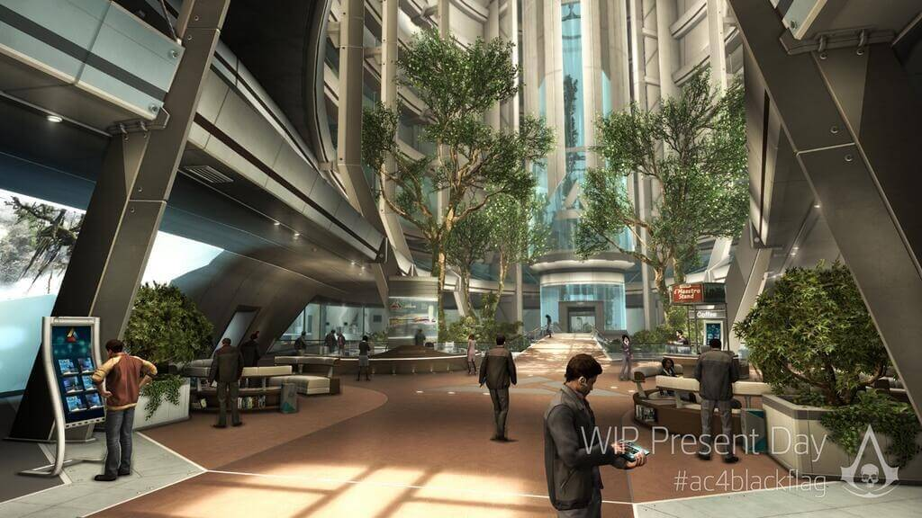 'Assassin's Creed 4′ Images Show Modern-Day Abstergo
