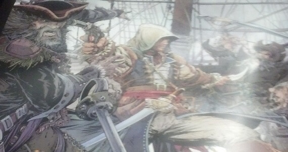 Assassins Creed 4 Black Flag Reveal Poster