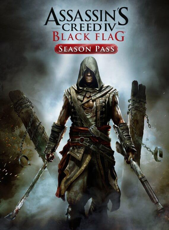 Assassins Creed 4 Black Flag Season Pass Poster
