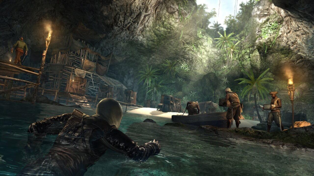 'Assassin's Creed 4' Stealth Trailer & Gamescom Screenshots Released