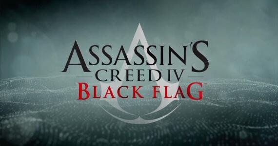 Assassins Creed 4 Black Flag Trailer Logo