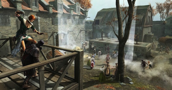 Assassins Creed 4 Multiplayer - Gallows Level