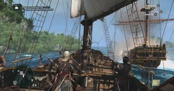 Assassins Creed 4 - Naval Combat