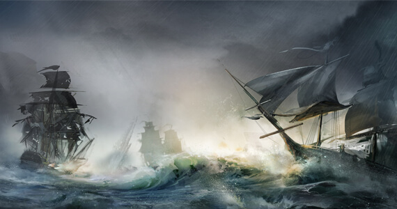 Assassin's Creed 4: 'Connected' Single-Player But No Multiplayer Naval Battles