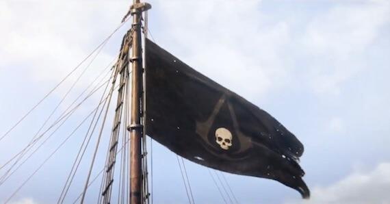 Assassins Creed 4 Trailer - Pirate Flag