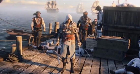 'Assassin's Creed 4: Black Flag' Trailer: Pirate By Day, Assassin By Night