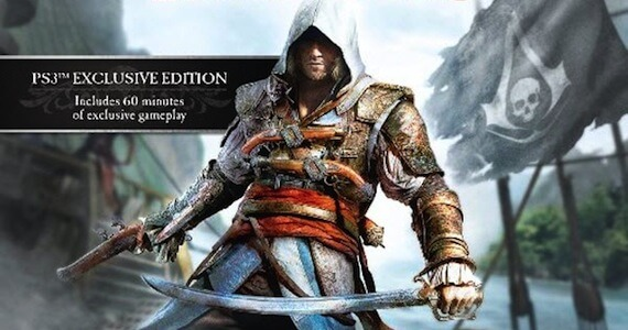 'Assassin's Creed 4: Black Flag' Coming to Wii U; Exclusive PS3 Content