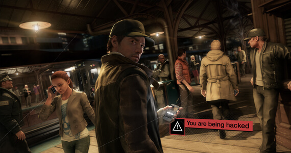 Assassin's Creed Easter Egg In Watch Dogs