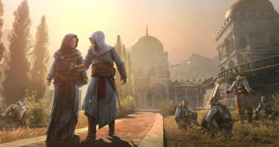 Assassins Creed Revelations Altair Maria