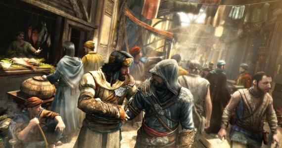 Assassins Creed Revelations Yusuf Ezio