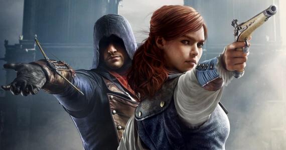 Assassins Creed Unity Arno Elise Love Story