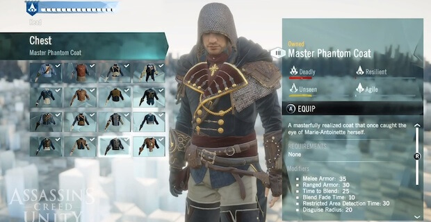 'Assassin's Creed Unity' Co-Op Character Customization & F2P Details